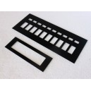 Upper Console s3/4 overlays set plastic